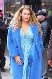 Blake Lively - Leaving Good Morning America in New York City