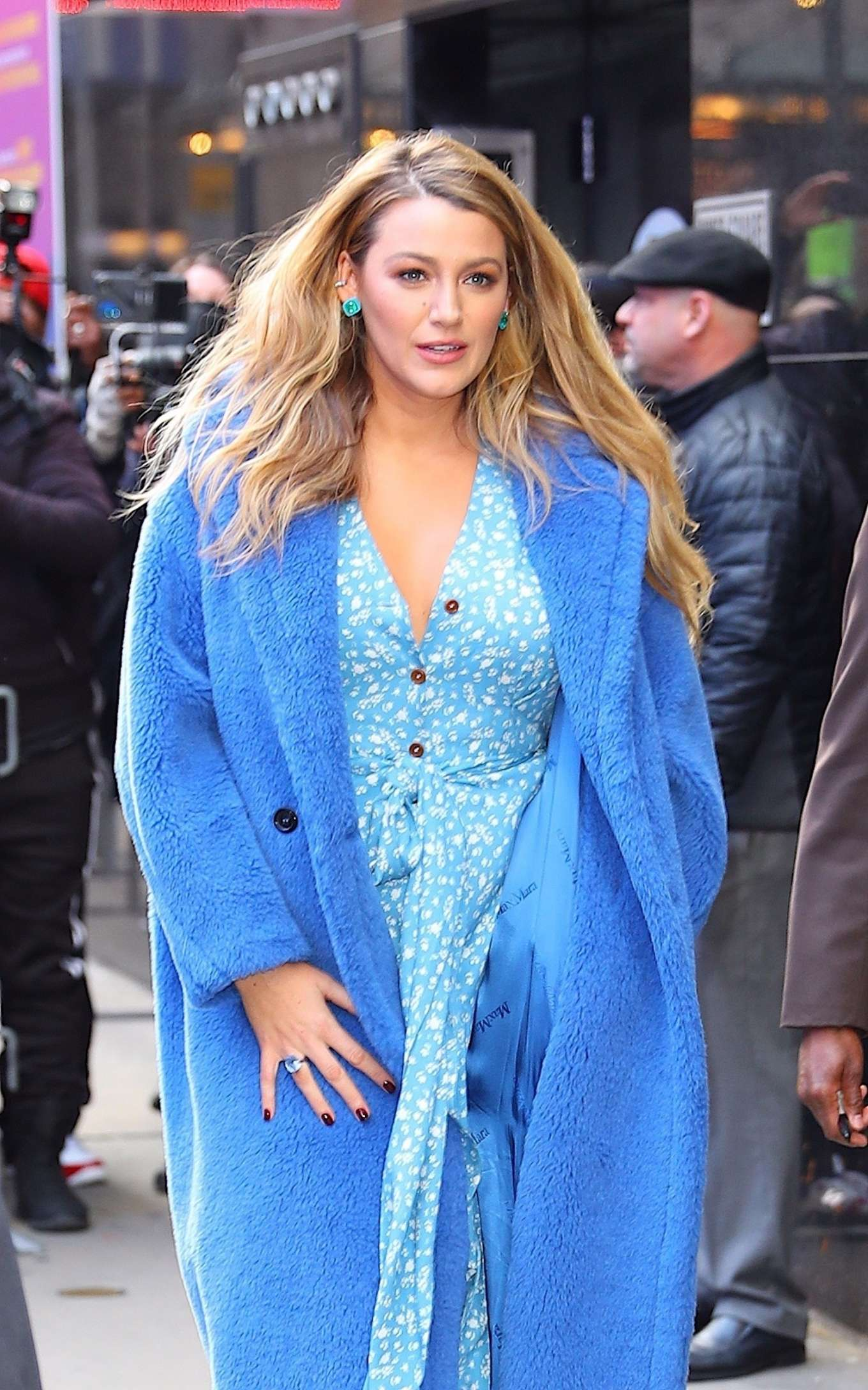 Blake Lively - Leaving Good Morning America in New York City