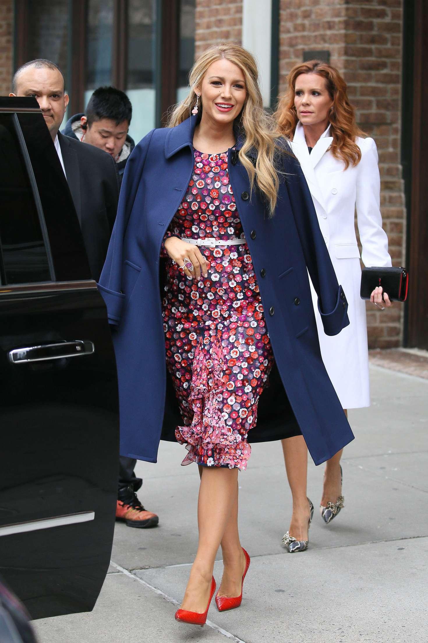 Blake Lively 2017 : Blake Lively: Leaving her hotel in New York City -01