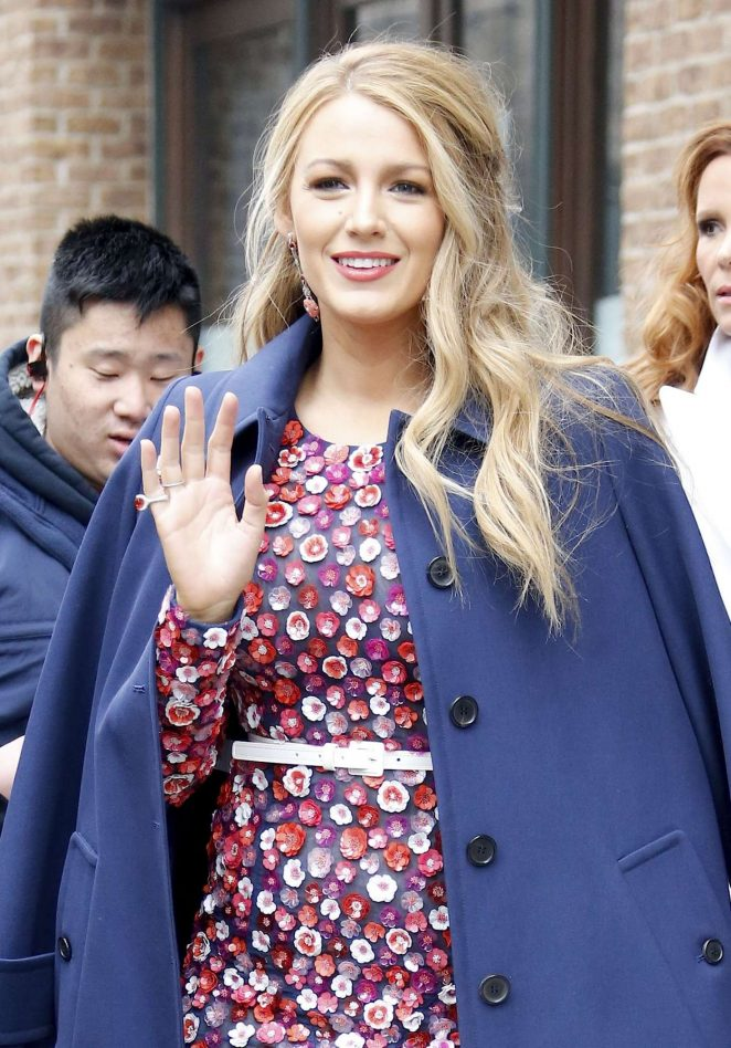 Blake Lively - Leaving her hotel in New York City