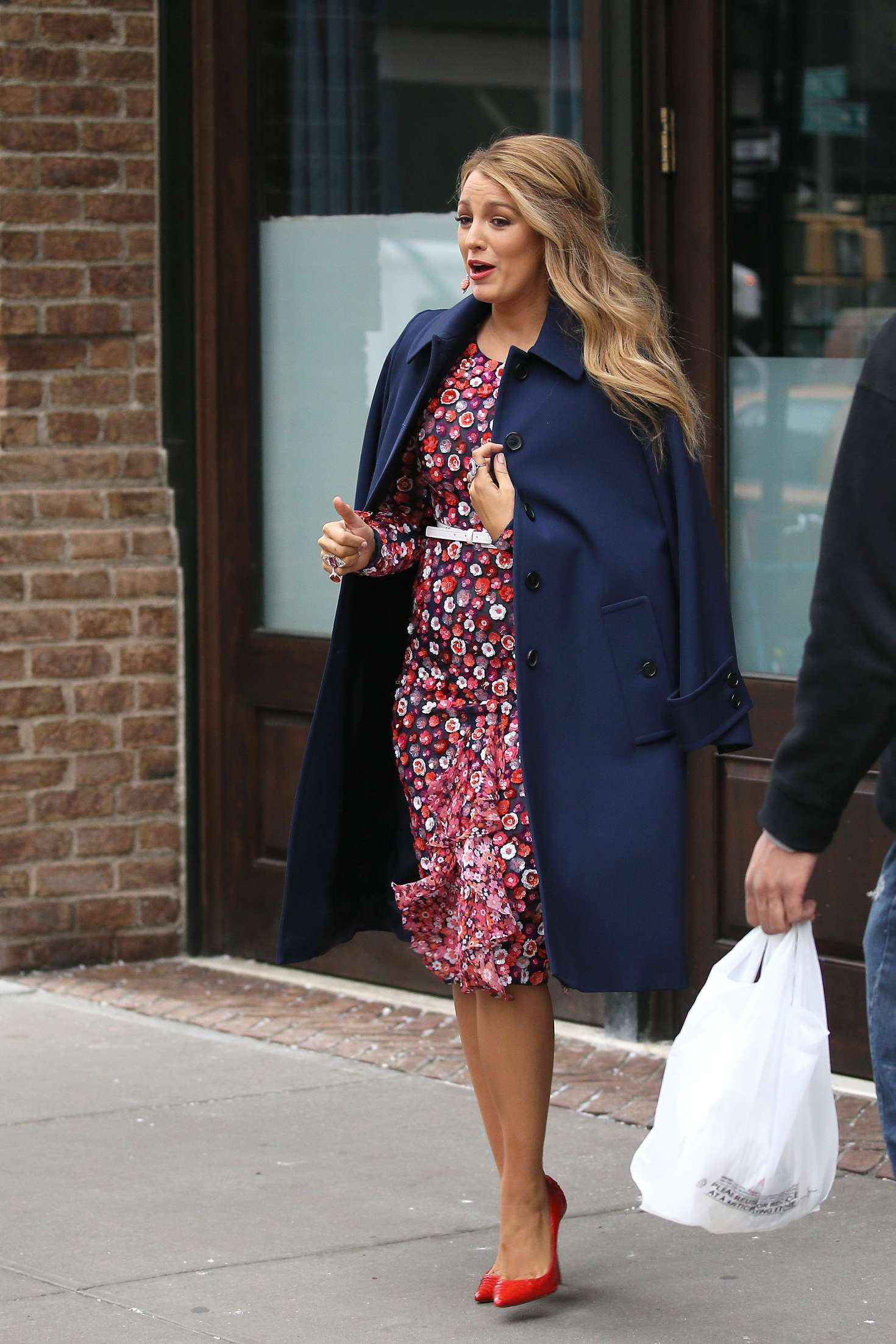 Blake Lively 2017 : Blake Lively: Leaving her hotel in New York City -09