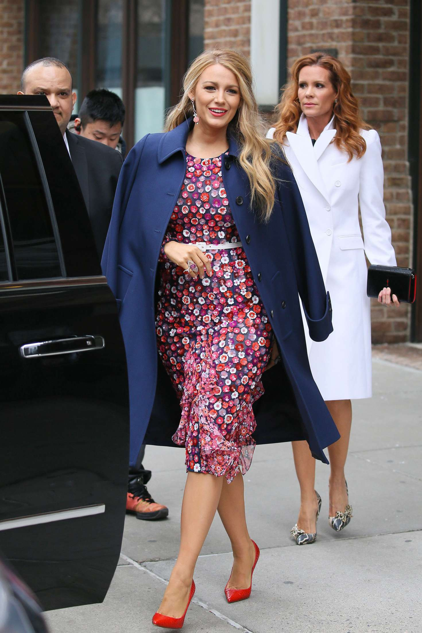 Blake Lively 2017 : Blake Lively: Leaving her hotel in New York City -10