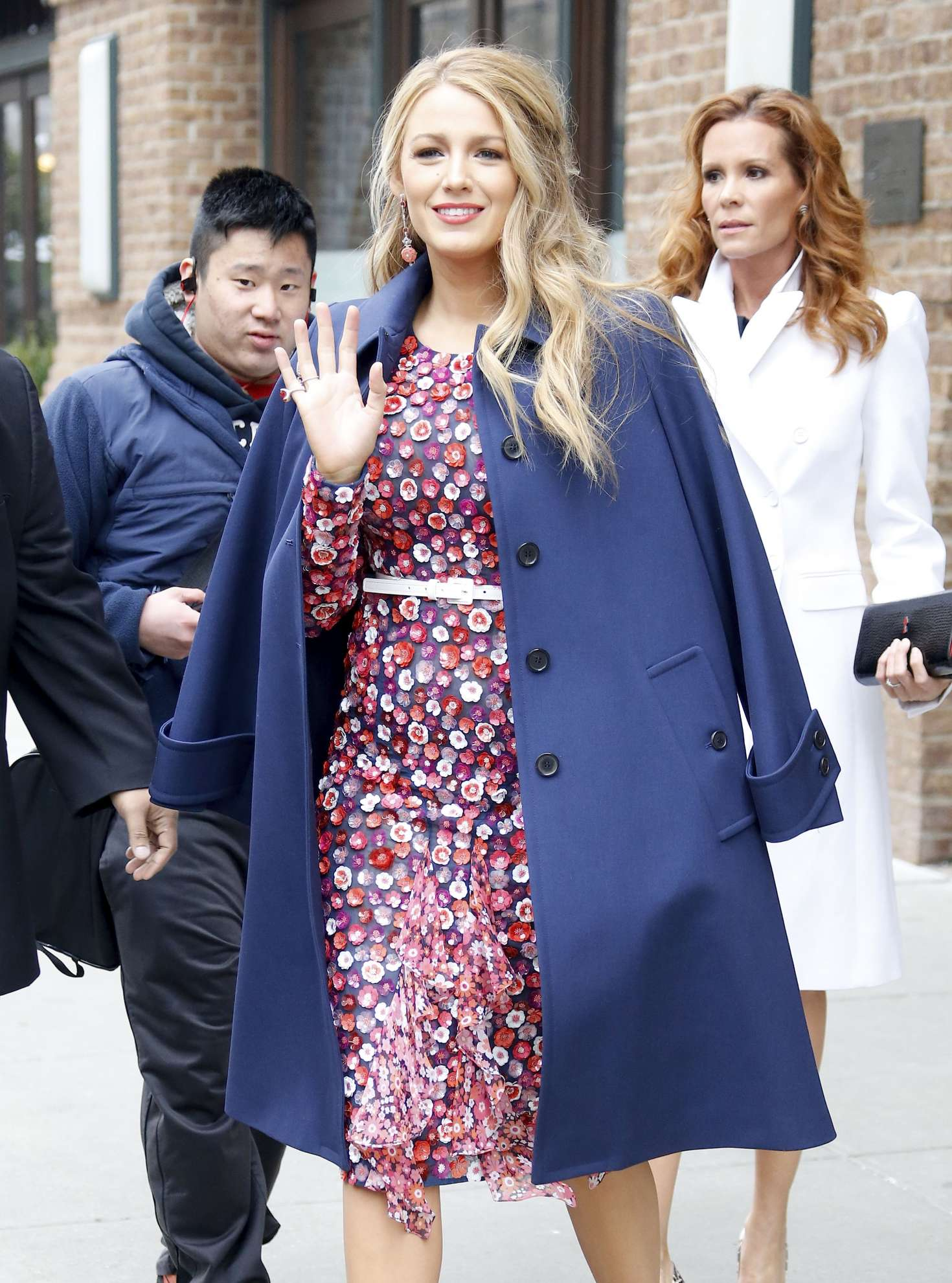 Blake Lively 2017 : Blake Lively: Leaving her hotel in New York City -11