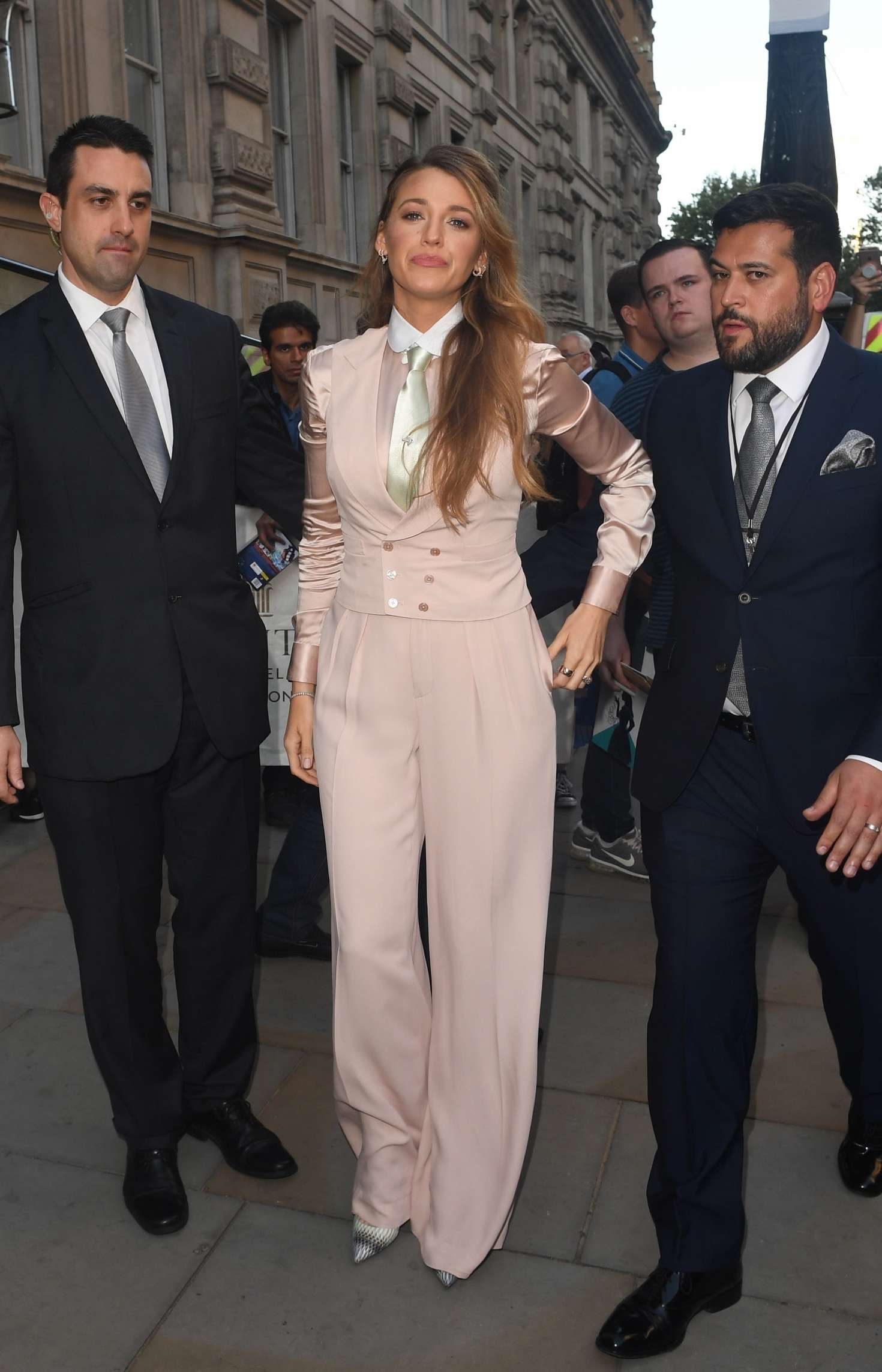 Blake Lively 2018 : Blake Lively: Leaving The Corinthia Hotel -06