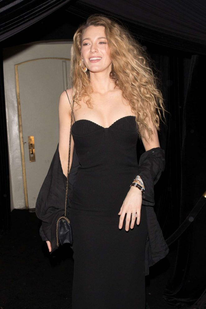 Blake Lively - Leaving the Delilah club in West Hollywood