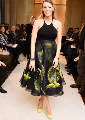Blake Lively - Marchesa  Fashion Show 2015 in New York City