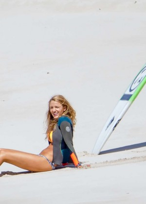 Blake Lively On The Set Of The Shallows In New South Wales GotCeleb