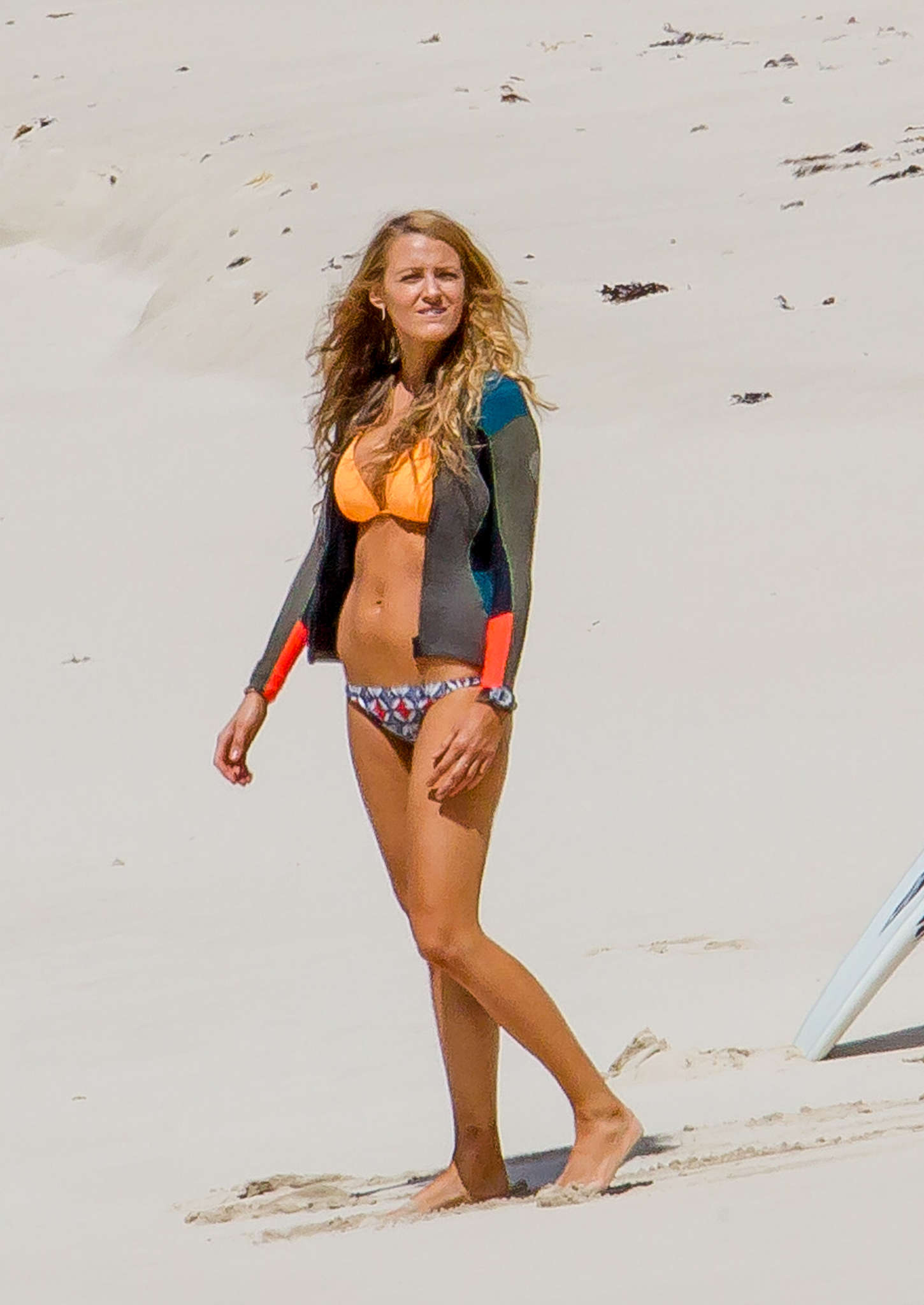Blake Lively in Bikini on the set of 'The Shallows' in New South Wales