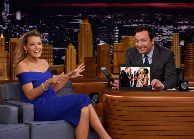 Blake Lively on The Tonight Show Starring Jimmy Fallon -01