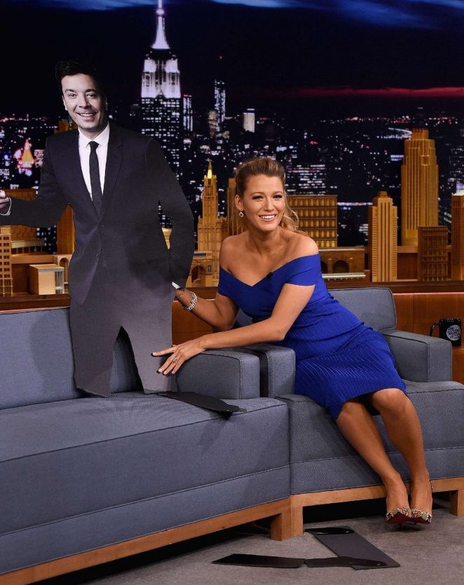 Blake Lively on The Tonight Show Starring Jimmy Fallon -02