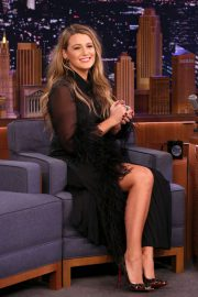 Blake Lively - On 'The Tonight Show Starring Jimmy Fallon' in NYC