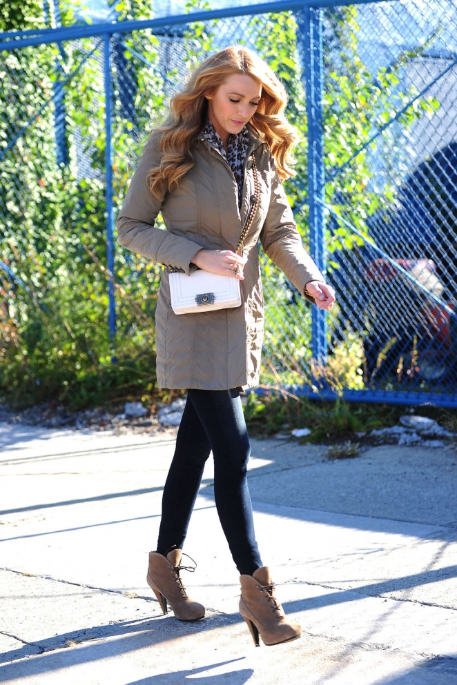 Blake Lively – Out and about in New York