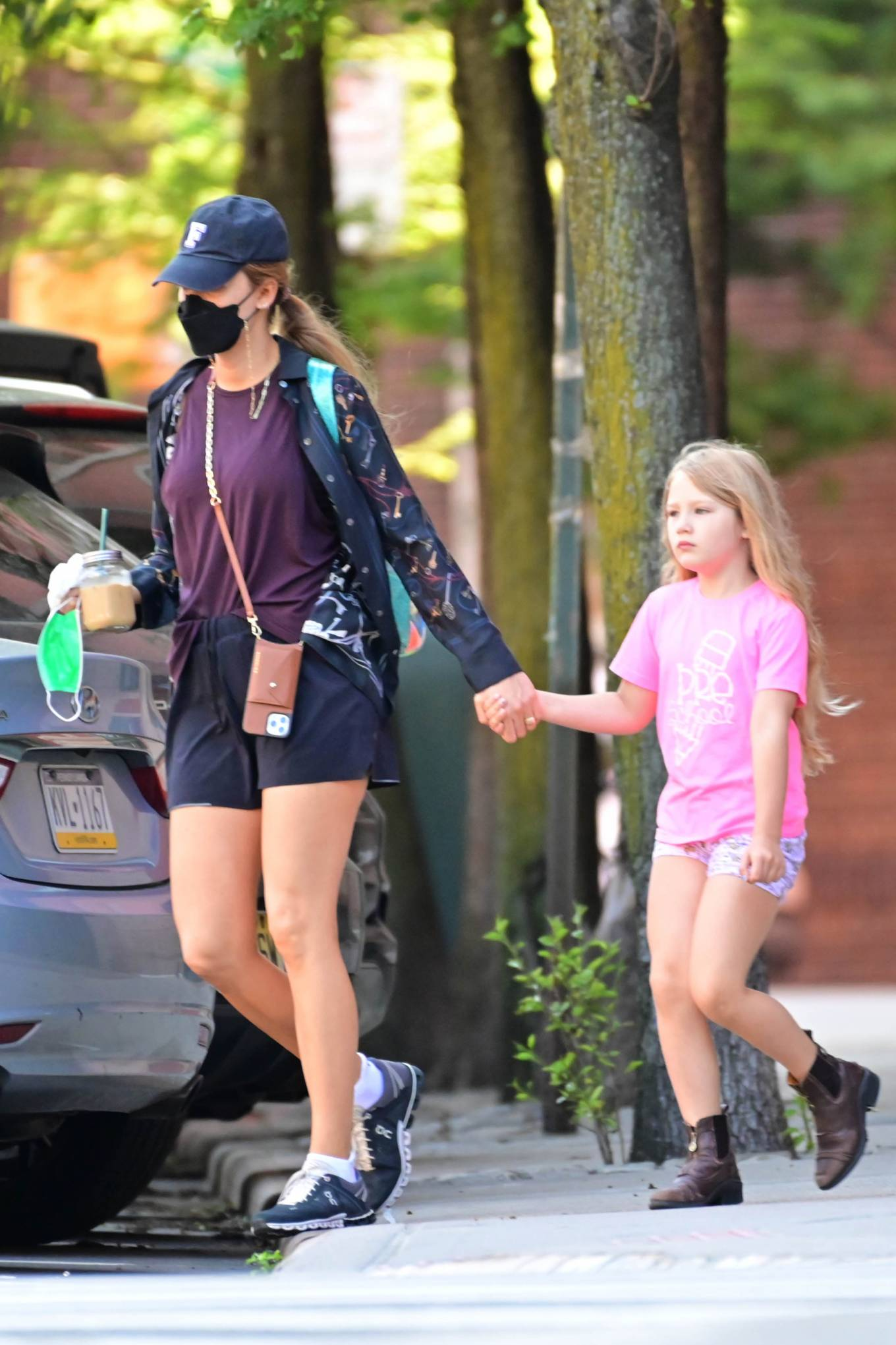 Blake Lively - Out in New York with her daughter
