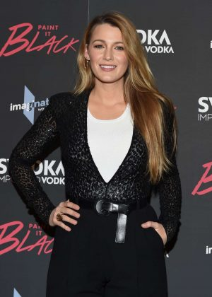 Blake Lively - 'Paint it Black' Screening in New York