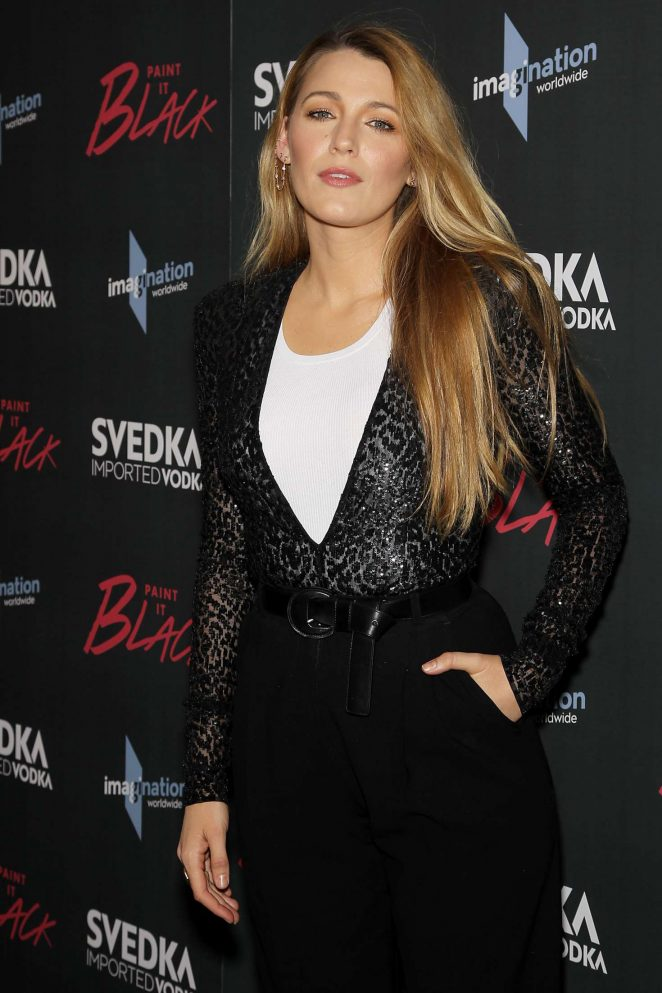 Blake Lively: Paint it Black Screening -18