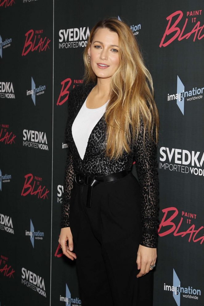 Blake Lively: Paint it Black Screening -19