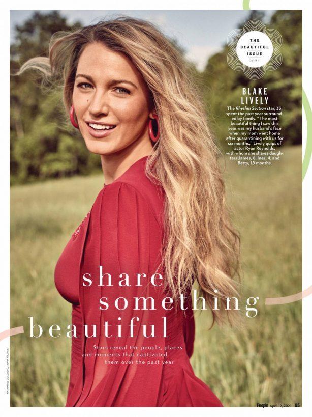 Blake Lively - PEOPLE magazine Beautiful (Issue 2021)