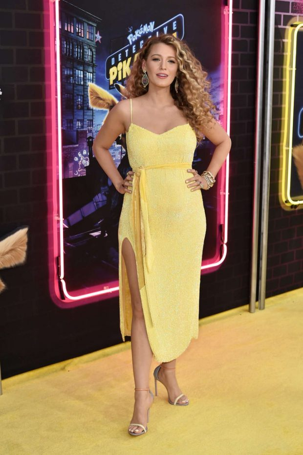 Blake Lively - Pokemon Detective Pikachu US Premiere in NYC
