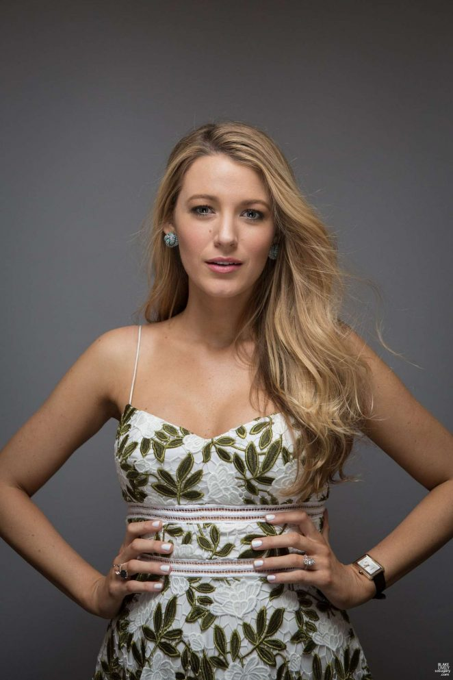 blake lively � the hollywood reporter photoshoot may 2016