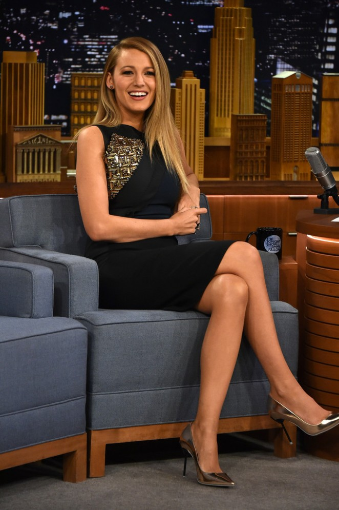 Blake Lively - The Tonight Show With Jimmy Fallon in NYC