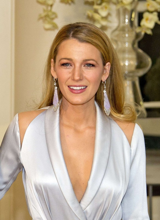Blake Lively – Trudeau State Dinner in Washington