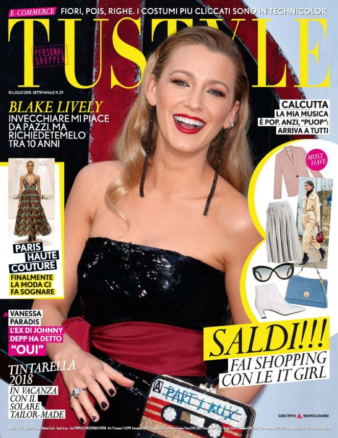 Blake Lively - Tu Style Magazine (July 2018)