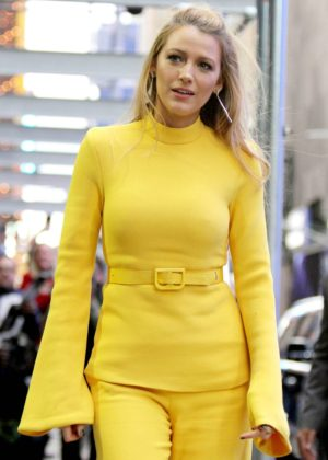 Blake Lively - Visits 'Good Morning America' in NYC