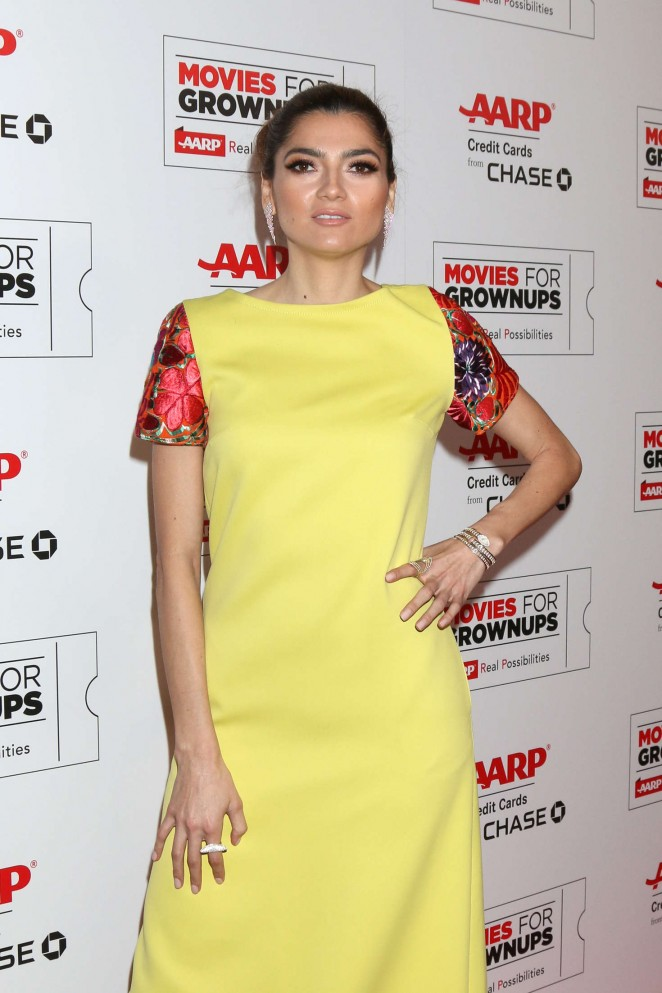 Blanca Blanco - AARP's Movie For GrownUps Awards in Beverly Hills