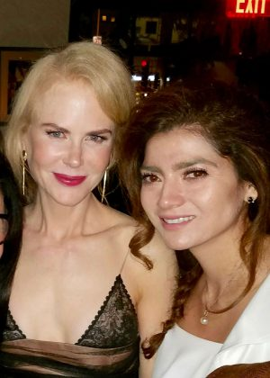 Blanca Blanco and Nicole Kidman at 'Lion' Premiere in LA