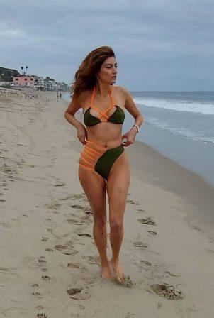 Blanca Blanco - Bikini photoshoot in Malibu