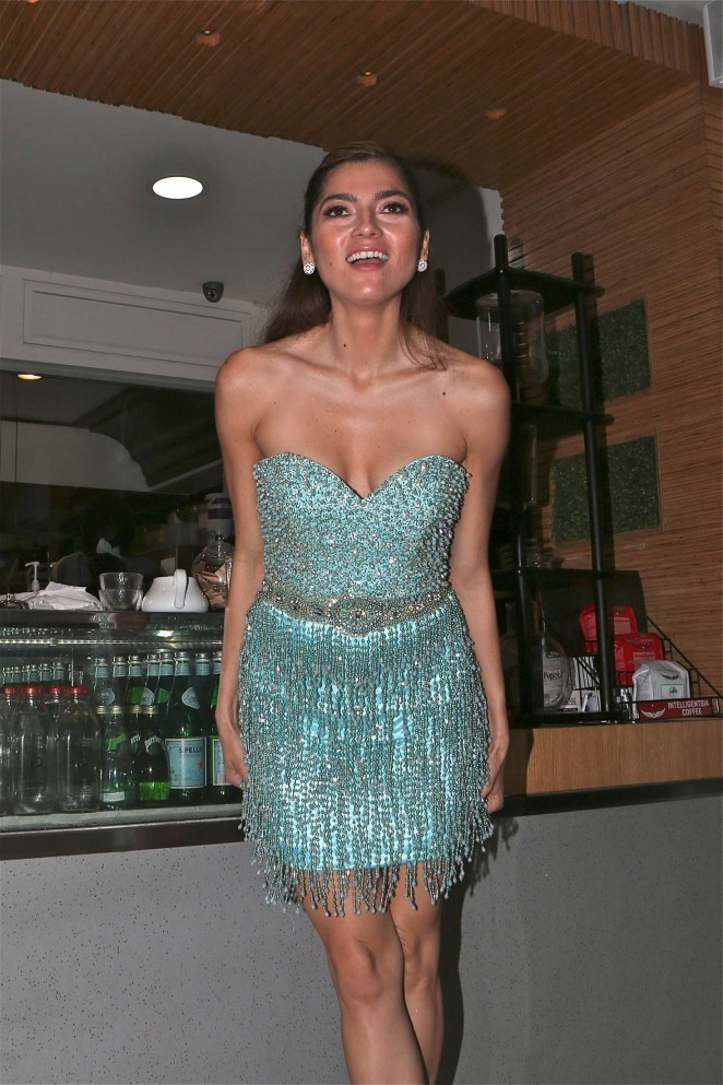 Blanca Blanco – Celebrates Friends Birthday in LA
