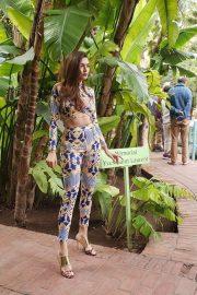 Blanca Blanco - Doing a photoshoot in Marrakech