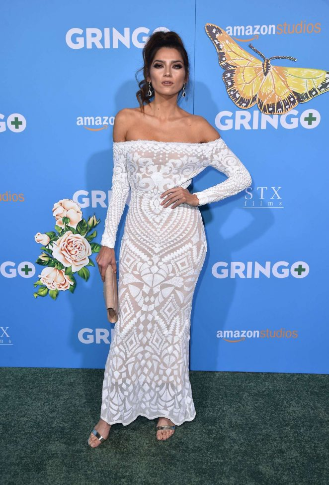 Blanca Blanco - 'Gringo' Premiere in Los Angeles