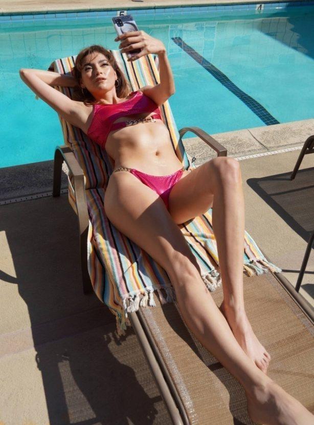 Blanca Blanco - In a bikini at a pool in West Hollywood