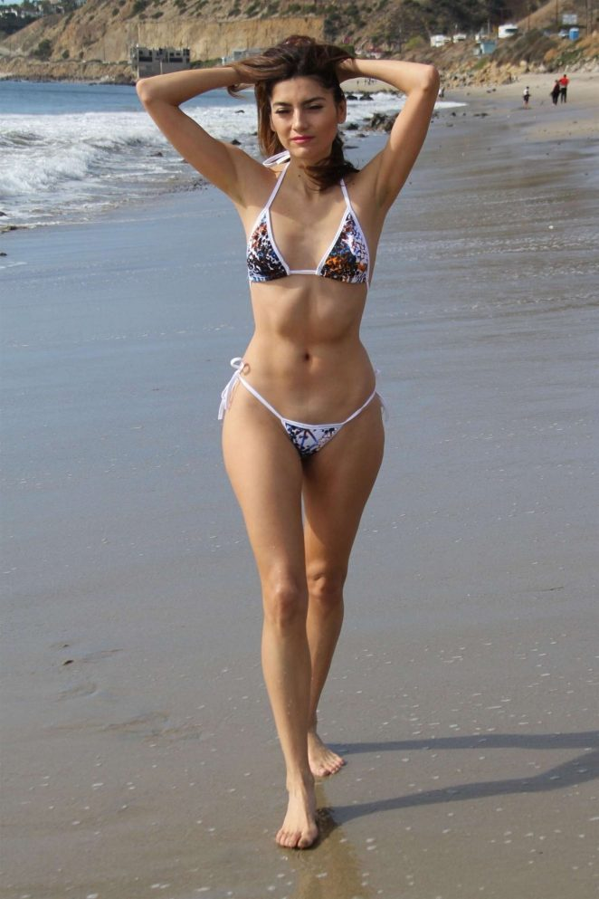 Beautiful Beach Bikini Girl Stock Images, Royalty-Free.