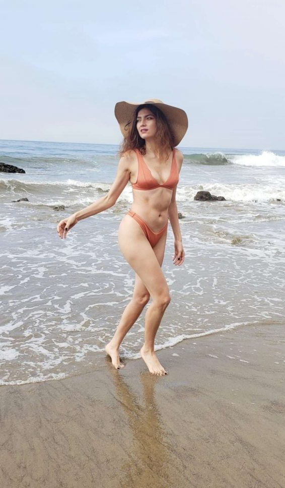 Blanca Blanco in Bikini at Matador Beach