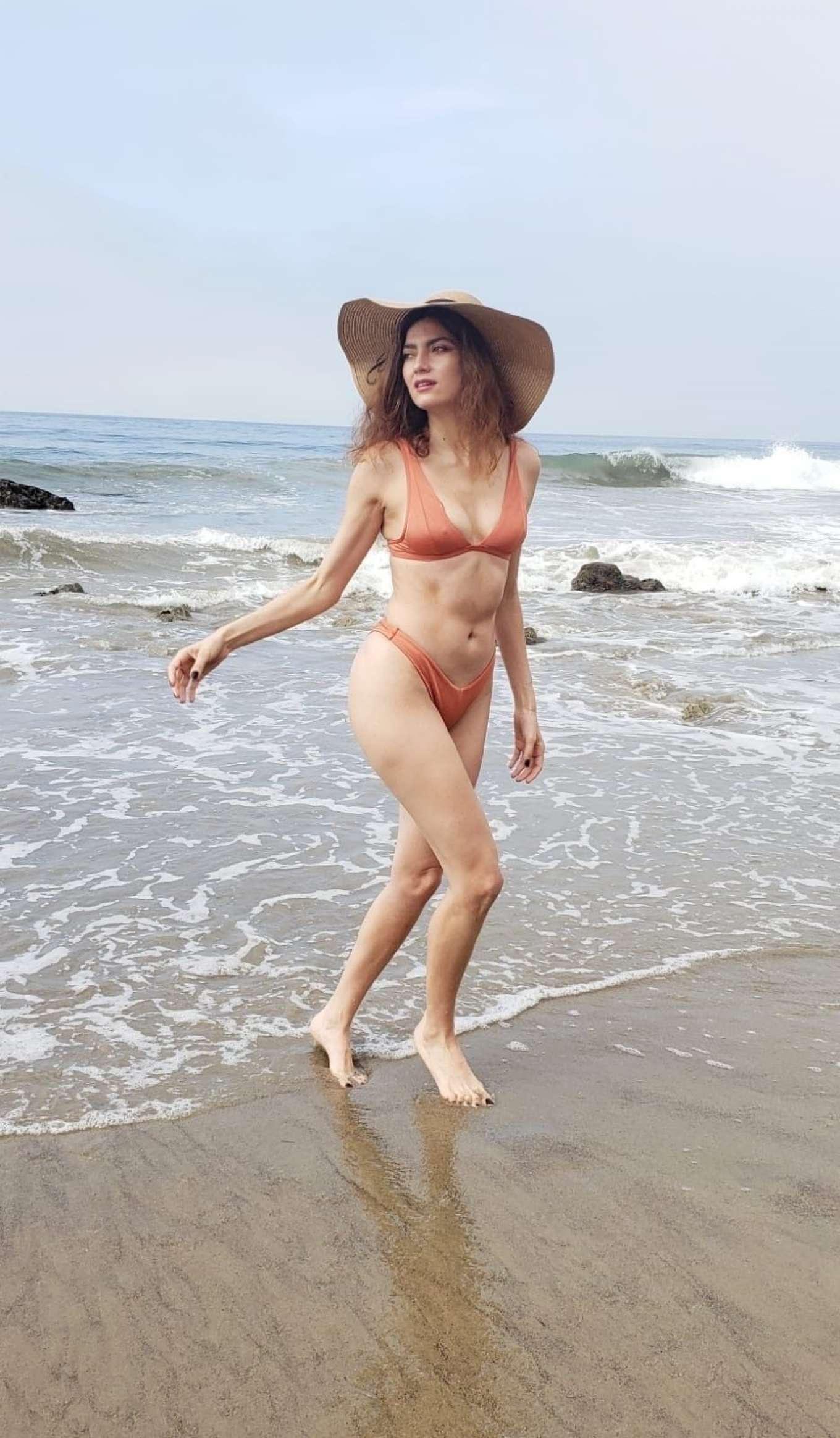 Blanca Blanco in Bikini at Matador Beach