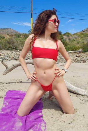 Blanca Blanco - In bikini in Malibu
