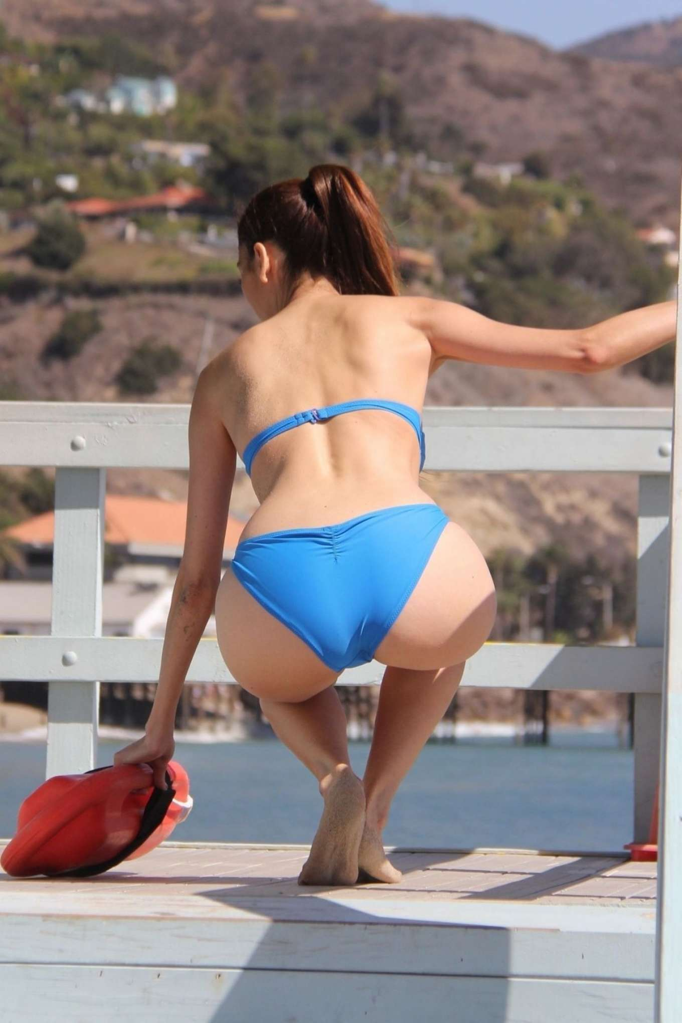 Blanca Blanco 2018 : Blanca Blanco in Blue Bikini 2018 -03