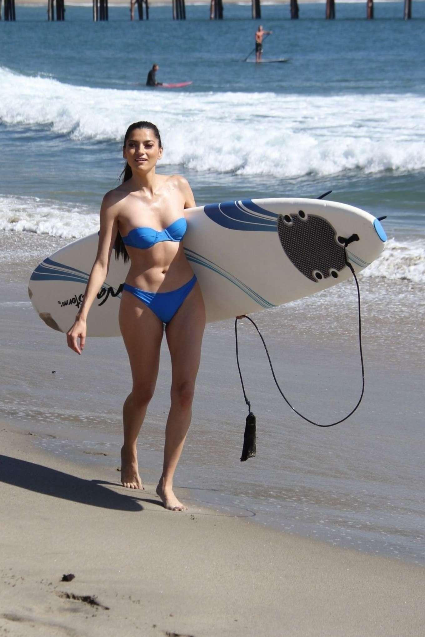 Blanca Blanco 2018 : Blanca Blanco in Blue Bikini 2018 -08