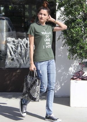Blanca Blanco in Jeans - Out in Malibu