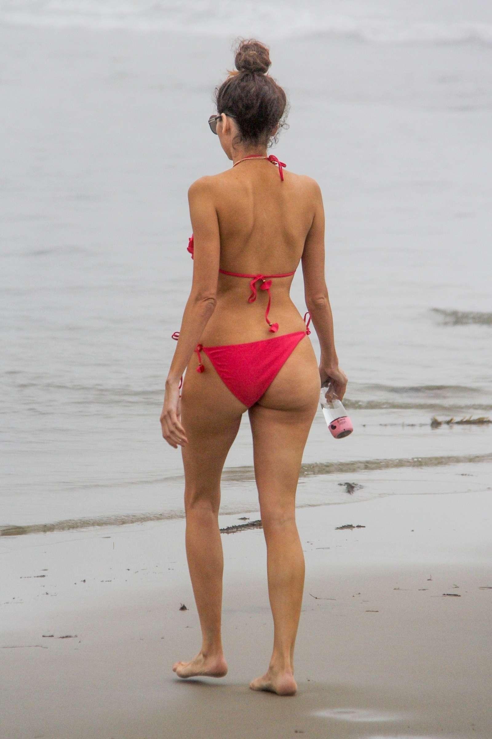 Blanca Blanco 2018 : Blanca Blanco in Red Swimsuit 2018 -03