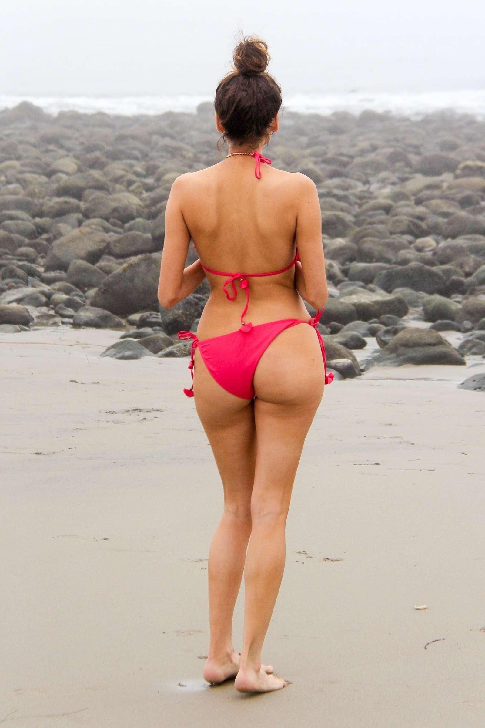Blanca Blanco 2018 : Blanca Blanco in Red Swimsuit 2018 -06