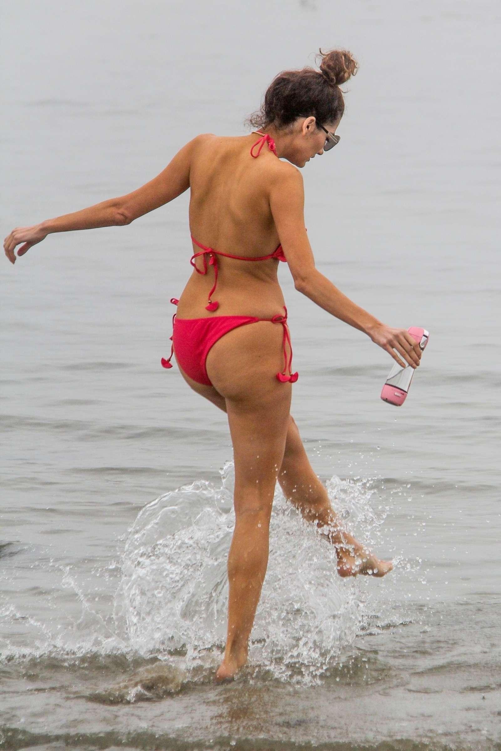 Blanca Blanco 2018 : Blanca Blanco in Red Swimsuit 2018 -15