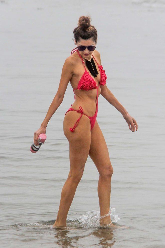Blanca Blanco 2018 : Blanca Blanco in Red Swimsuit 2018 -18