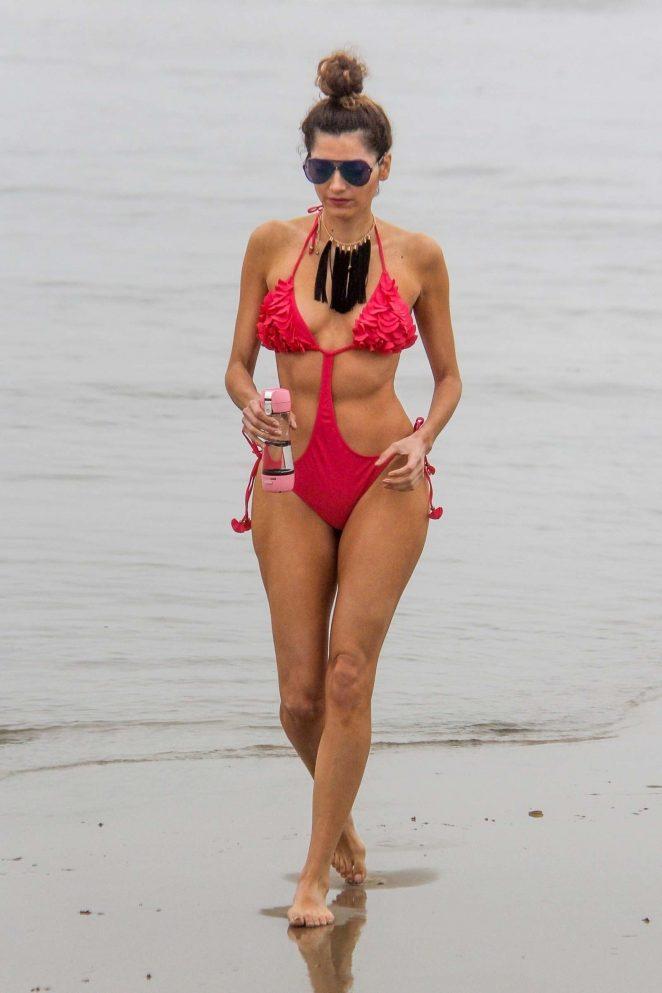 Blanca Blanco 2018 : Blanca Blanco in Red Swimsuit 2018 -21