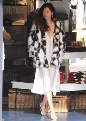 Blanca Blanco - Out in Malibu