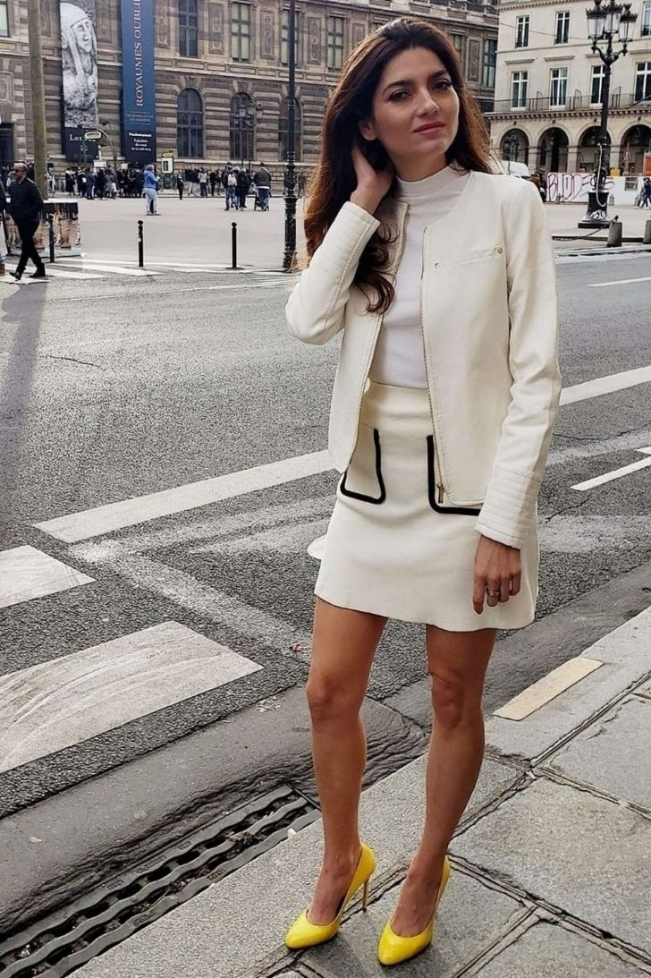 Blanca Blanco - Out in Paris