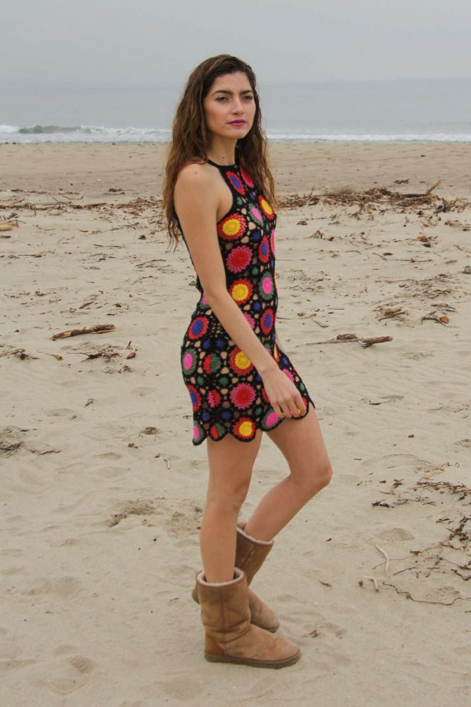 Blanca Blanco: Photoshoot in Malibu -39