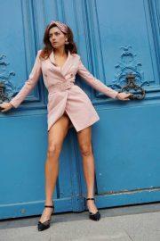 Blanca Blanco - Photoshoot in Paris during PFW